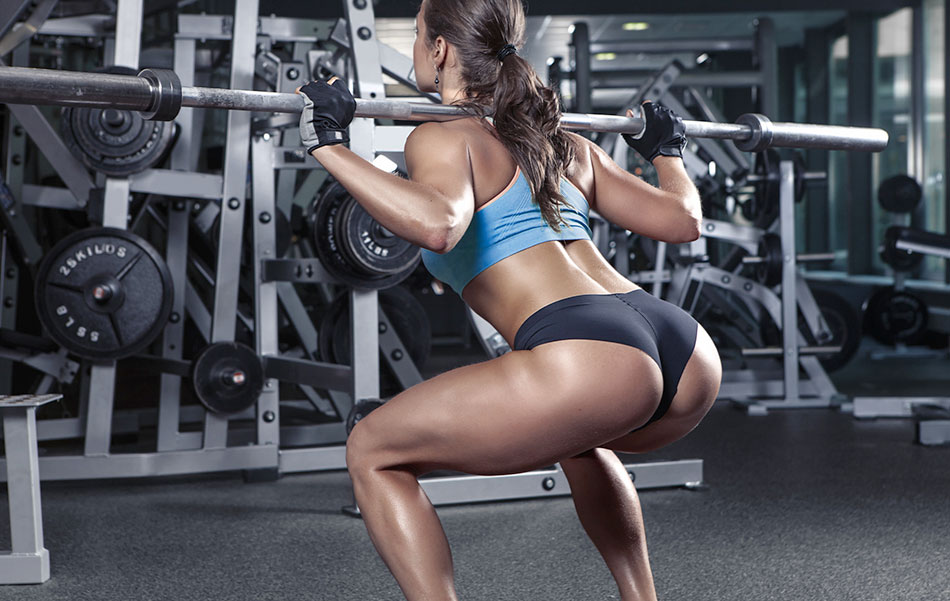 Training gluteus muscles